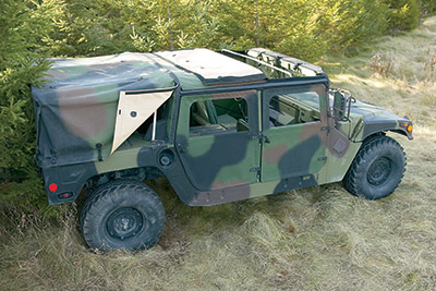 Military Vehicle Covers