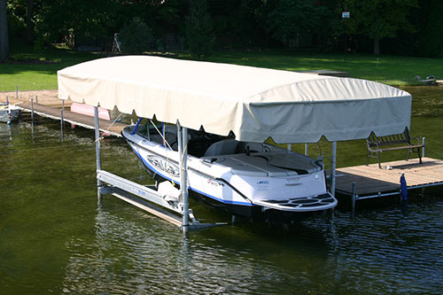 Fabric for Boat Lift Canopies