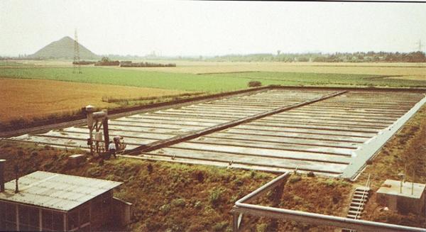wastewater pond liner